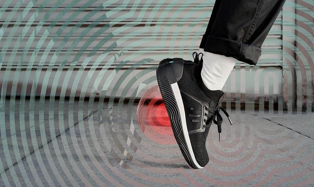Droplabs haptic Feedback shoes let you feel music.