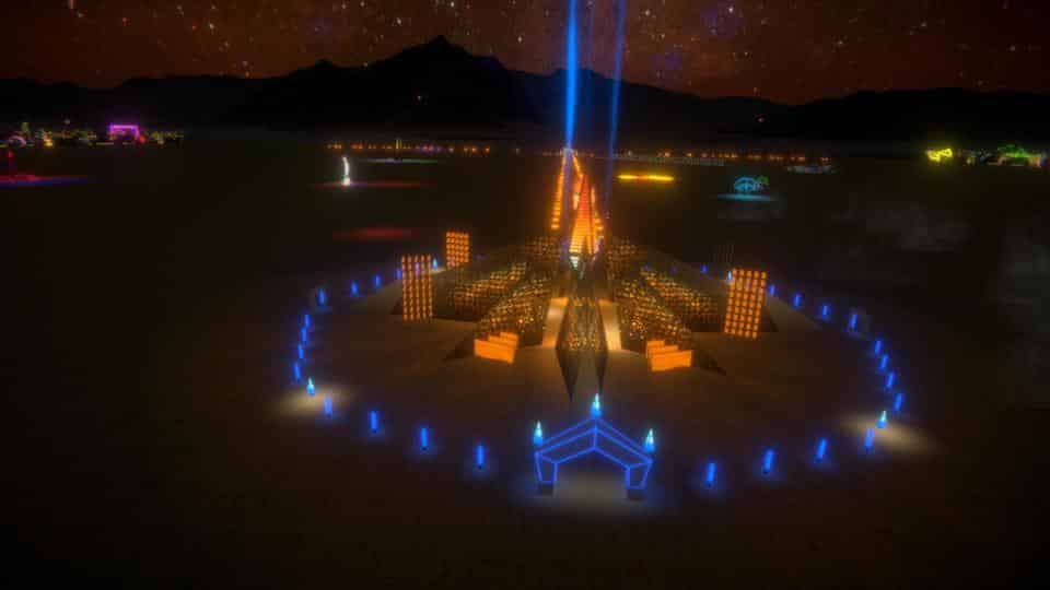 "The Ethereal Empyrean Experience is the digital temple for Virtual Burning Man 2020. MULTIVERSE UNIVERSE - LORENZO ""RENZO"" VERBECK, SYLVIA ADRIENNE LISSE AND JEREMY ROUSH"