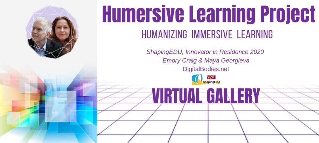 Humersive Learning Project update at the ShapingEDU Winter Games.