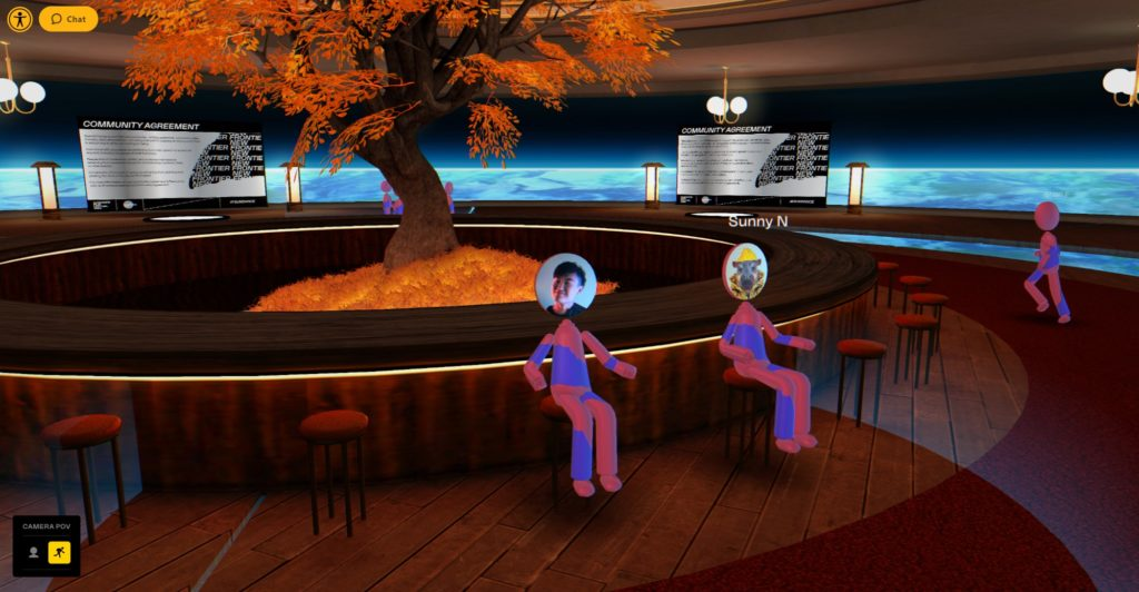 Sundance 2021 VR New Frontier program takes place in a virtual world.