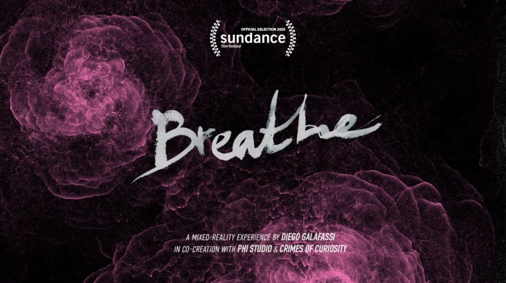 Breathe, one of the few innovative projects with the Magic Leap device.