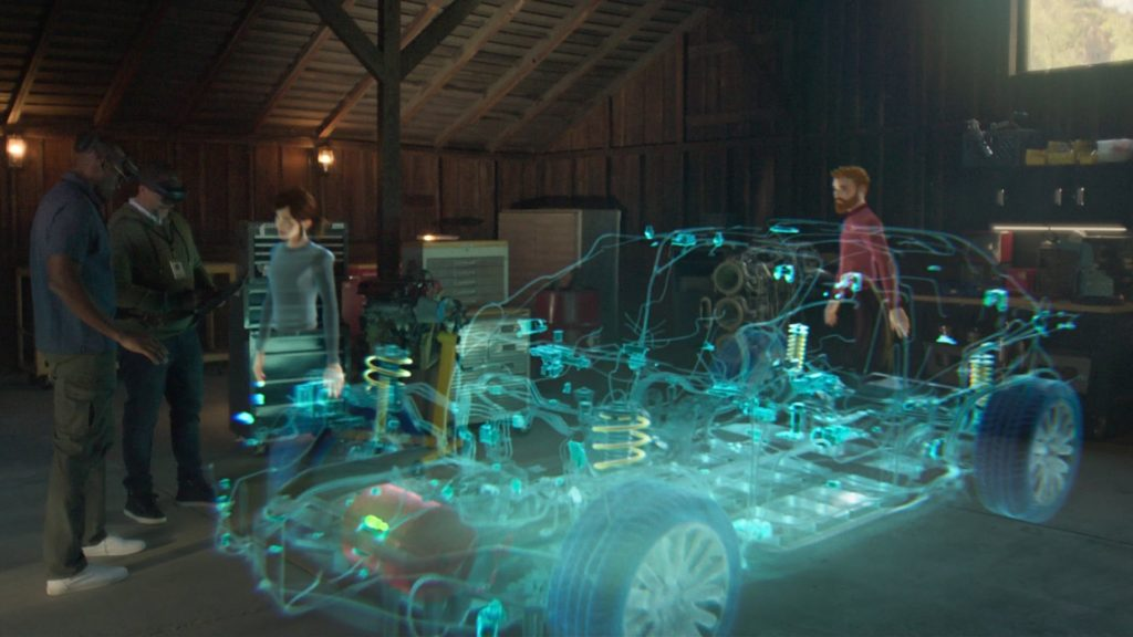 Holograms in your future? yes, if Microsoft has its way with the new Mesh platform.