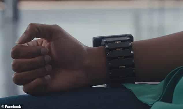Facebook's wrist wearable