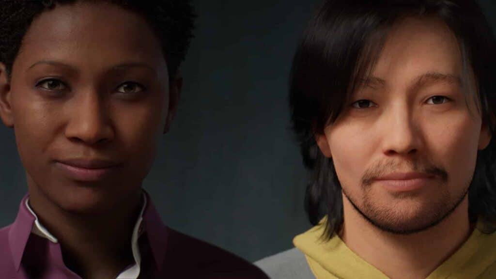 Metahumans Creator deeply realistic avatars