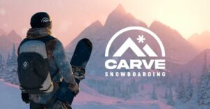 Carve Snowboarding creates the illusion of a full-body VR experience.