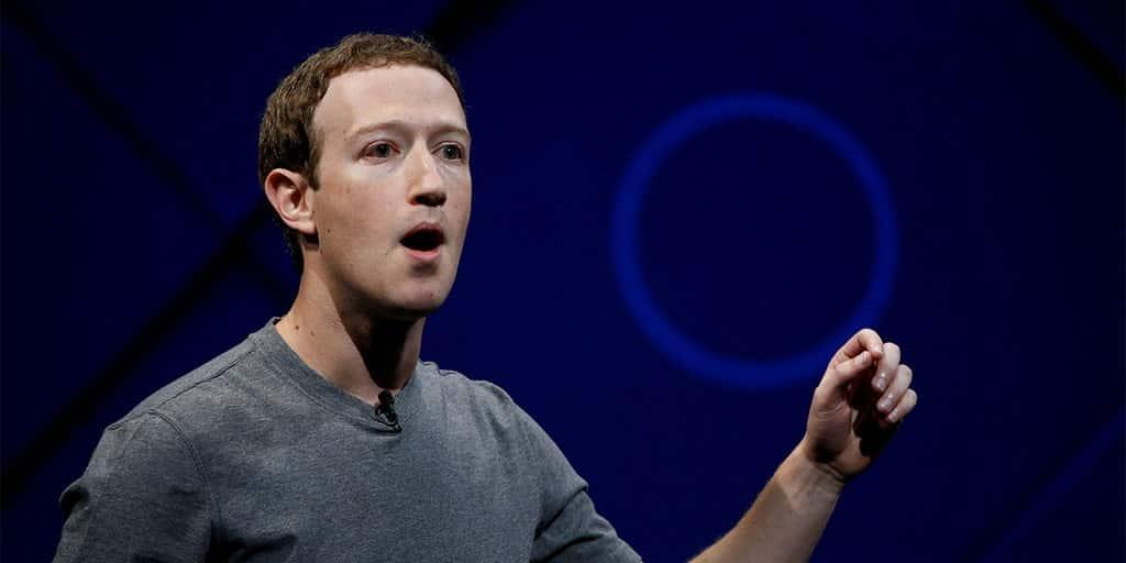 Facebook CEO, Mark Zuckerberg