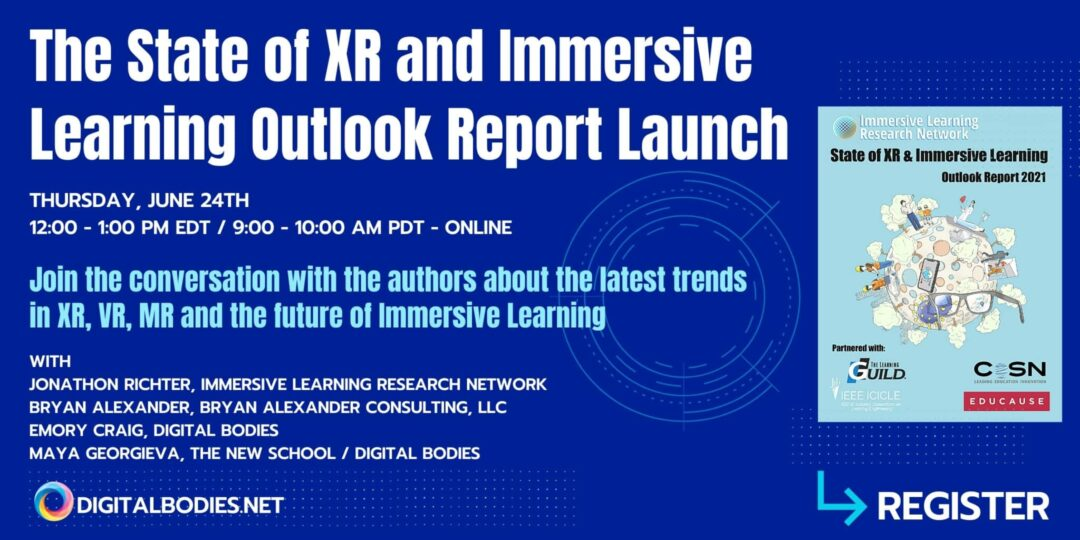 State of XR and Immersive Learning Report Launch